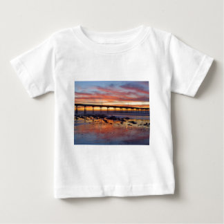 Sunset At Ocean Beach Baby T-Shirt