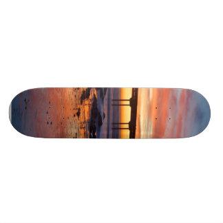 Sunset At Ocean Beach Skateboards