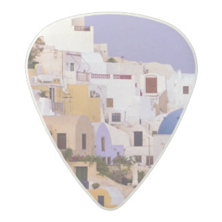 Sunset at Oil, Santorini 2 Acetal Guitar Pick