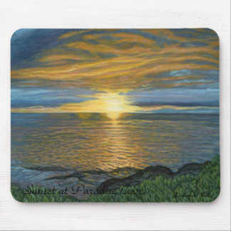 Sunset at Paradise Cove Mousepad