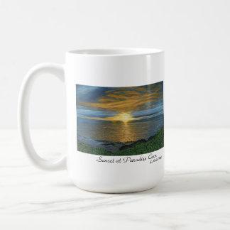 Sunset at Paradise Cove Mug