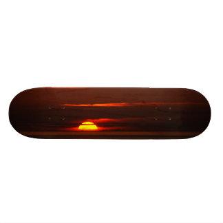 Sunset at Porto Covo West Coast of Portugal 20 Cm Skateboard Deck