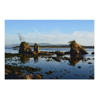 Sunset at Rocky Inlet Photo Print