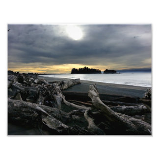 Sunset at Ruby Beach Olympic National Park Art Photo