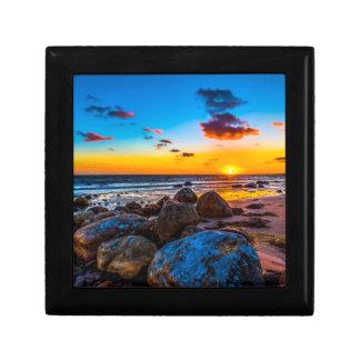 Sunset At Sea Gift Box