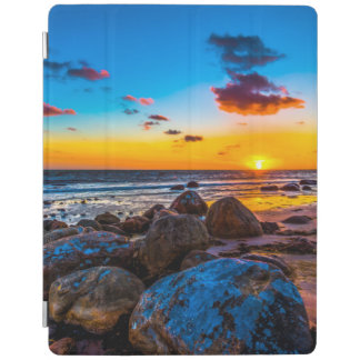 Sunset At Sea iPad Cover