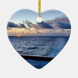 Sunset at Sea Ornament
