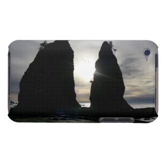 Sunset at Split rock Olympic National Park Barely There iPod Cover