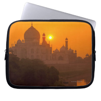 Sunset at Taj Mahal Laptop Sleeve