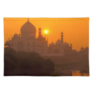 Sunset at Taj Mahal Placemat