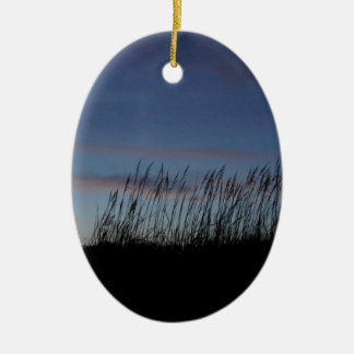 Sunset at the Beach Christmas Ornament