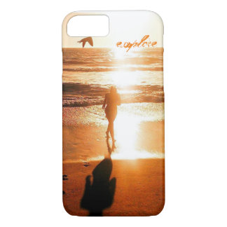 Sunset at the Beach - explore iPhone 7 Case