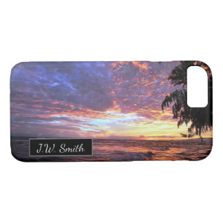 Sunset at the Beach iPhone 8/7 Case