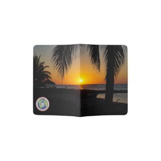 Sunset at the Beach Passport Holder