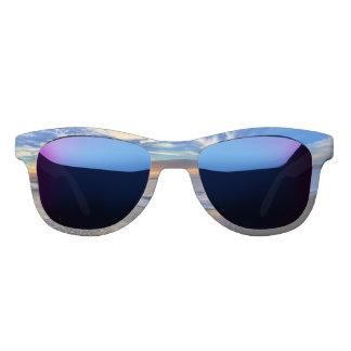 sunset at the beach sunglasses