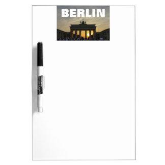 Sunset at the Brandenburg Gate 001.09, Berlin Dry Erase Board