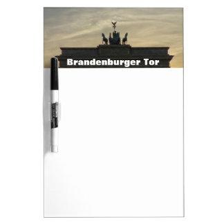 Sunset at the Brandenburg Gate 001.10, Berlin Dry Erase Board