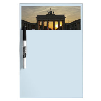Sunset at the Brandenburg Gate, Berlin Dry Erase Board