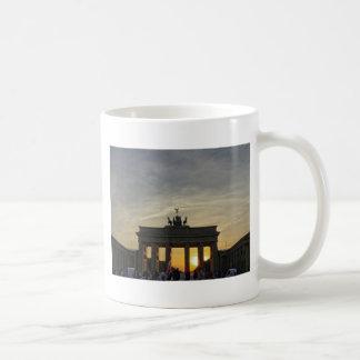 Sunset at the Brandenburg Gate, Berlin Mug