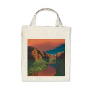 Sunset at the canyon bag