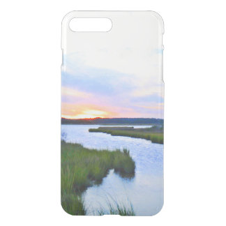 Sunset at the Delaware Shore iPhone 7 Plus Case