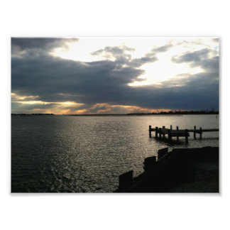 Sunset at the Docks Photograph