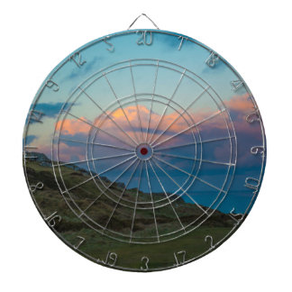 Sunset at the Great Orme Dartboard