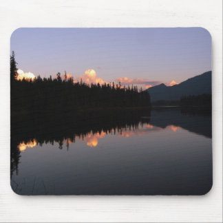 Sunset at the Mosquito Lake, British Columbia Mouse Mat