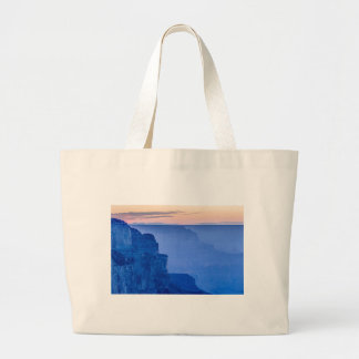 Sunset At The South Rim Of The Grand Canyon Canvas Bags