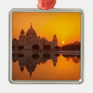 Sunset at the Victoria Memorial Christmas Ornament