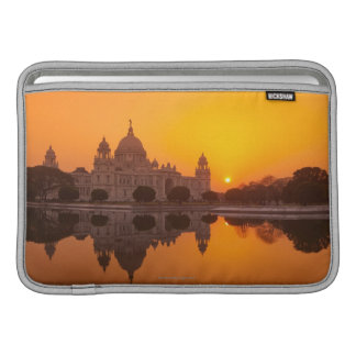 Sunset at the Victoria Memorial MacBook Sleeve