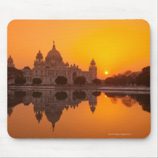 Sunset at the Victoria Memorial Mouse Pad
