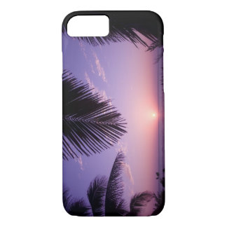 Sunset at West End, Cayman Brac, Cayman Islands, iPhone 8/7 Case