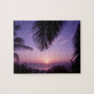 Sunset at West End, Cayman Brac, Cayman Islands, Puzzle