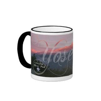 SUNSET AT YOSEMITE COFFEE MUGS