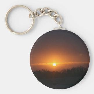 sunset atlanta key ring