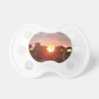 sunset baby pacifier