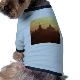 Sunset Bagan Bright Doggie Tshirt