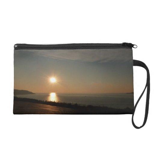 Sunset Bagettes Bag Wristlet Clutches
