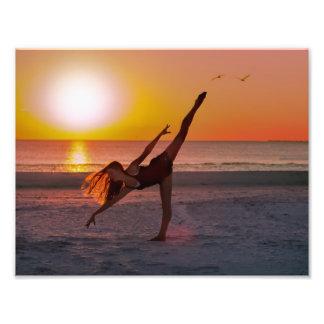 Sunset Ballet Photo Art
