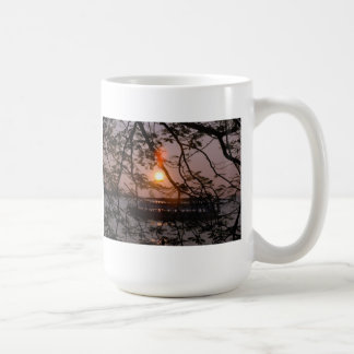 Sunset Basic White Mug