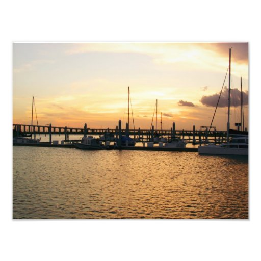 Sunset Bay Photo Enlargement