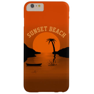 Sunset Beach Barely There iPhone 6 Plus Case