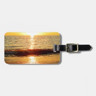 Sunset beach, Cape May NJ Luggage Tag