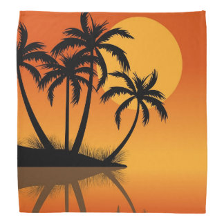 Sunset Beach fun bandana