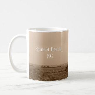 Sunset Beach North Carolina Mug