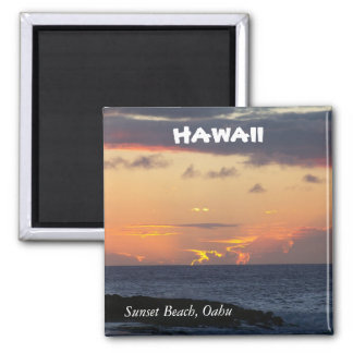 Sunset Beach, Oahu Magnet