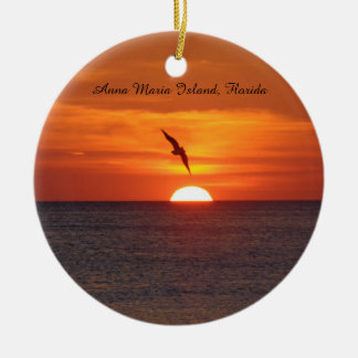 Sunset Beach ornament