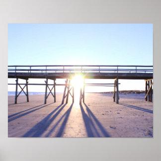 Sunset Beach Photograph Poster