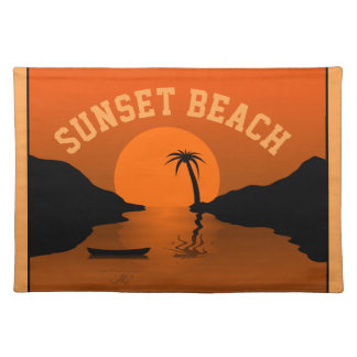 Sunset Beach Placemat